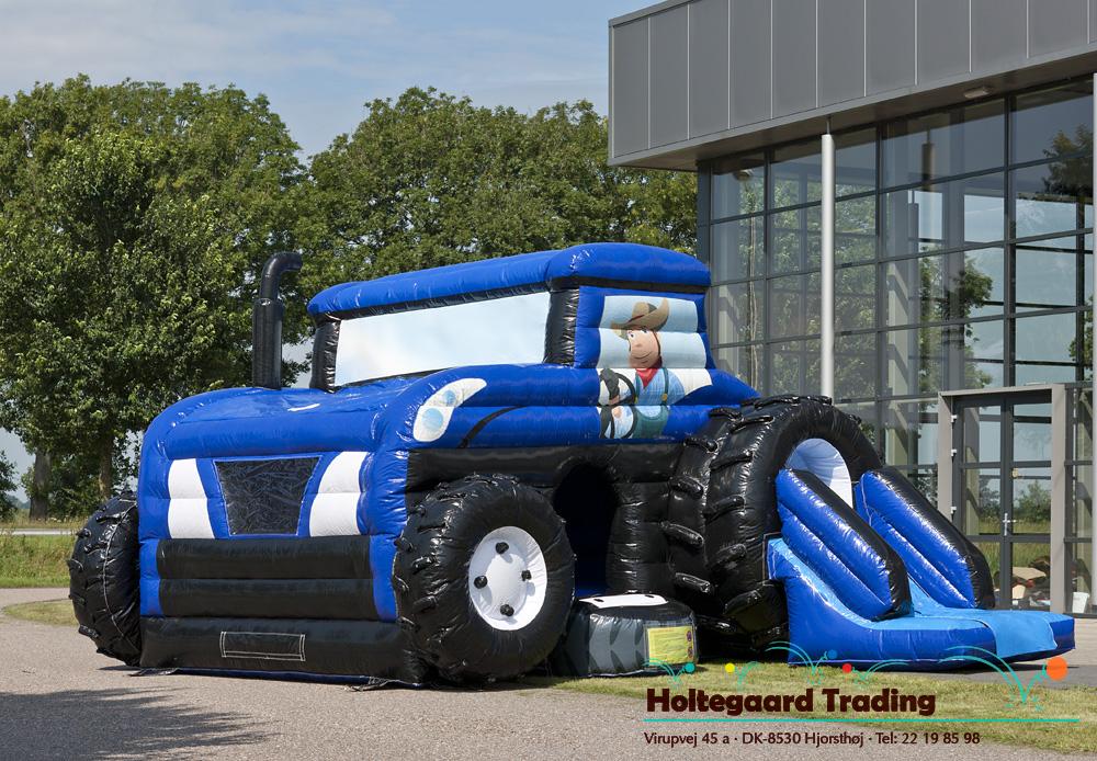Lavprisafdelingen hoppeborg som traktor