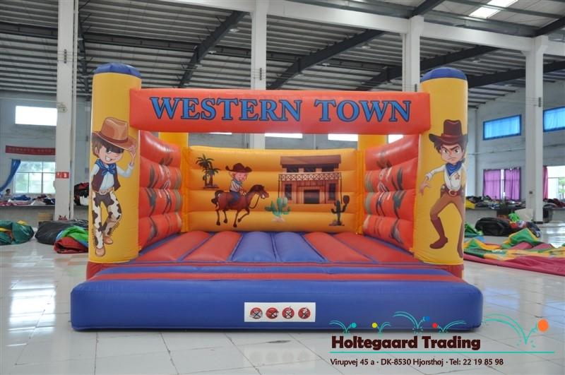 Lavprisafdelingen hoppeborg med Western tema i 4×5 og 5×6