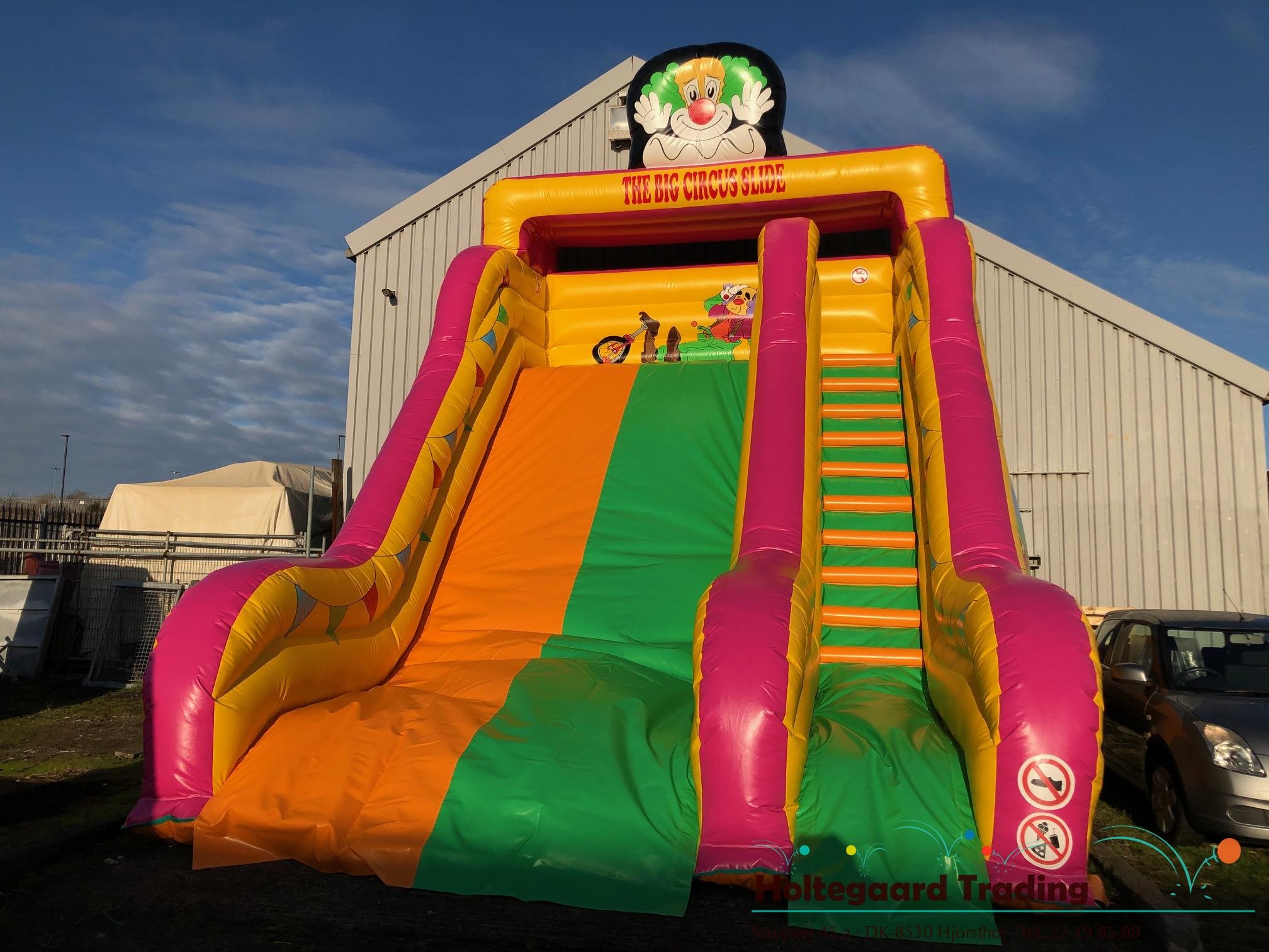 Cirkus slide i stor størrelse