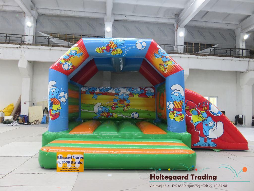 SMØLF hoppeborg med slide – findes i flere varianter